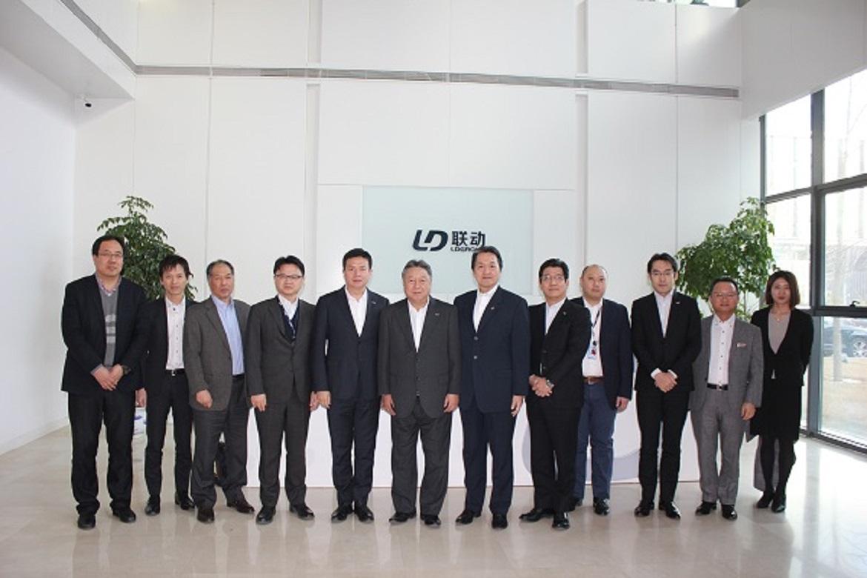 松下电器Eco Solutions公司上席副社长伊东、常务小栗莅临联动天翼